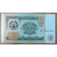 1 рубль 1994 года - Таджикистан - UNC