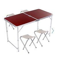 Стол для пикника + 4 табурета. Новый в упаковке! FOLDING TABLE