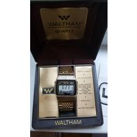 Редкие электронные часы WALTHAM