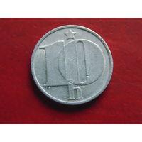 Чехословакия 10 геллеров 1976 года.