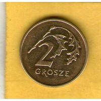 Польша 2 гроша 2004