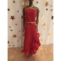 Платье винтажное для куклы Барби Genuine Barbie Fashion