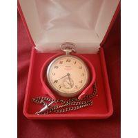 Карманные часы СССР молния, поезд, в отличном состоянии распродажа коллекции (с рубля) ТРИ ДНЯ