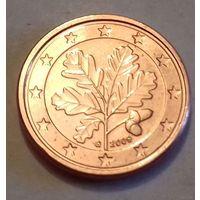 1 евроцент, Германия 2009 G, AU