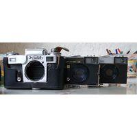 Фотоаппараты на запчасти - 6шт. Киев Чайка Зенит - с рубля