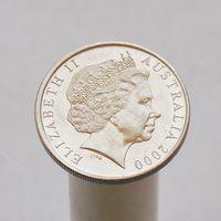 Австралия 10 центов 2000
