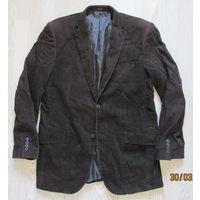 Фирменный вельветовый пиджак 52р.