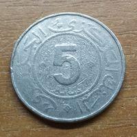 Алжир 5 динаров 1984 _РАСПРОДАЖА КОЛЛЕКЦИИ