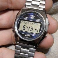 Винтажные часы CASIO ( нерж сталь )