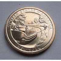 1 доллар 2021 г. Нью-Йорк