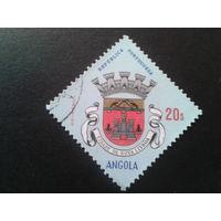 Ангола, колония Португалии 1963 герб