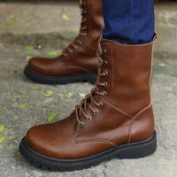 Ботинки на шнурках Летние, высокие, тонкая кожа, 43-43.5 р