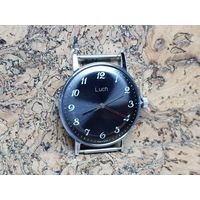 Часы Луч,механизм позолота,редкий лучеватый циферблат,состояние.Старт с рубля.