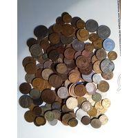 Монеты СССР и России 1928_90_е,более140шт+ иностранные