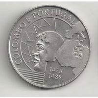 Португалия 200 эскудо 1991 Христофор Колумб в Португалии