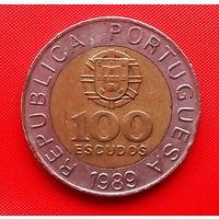 55-21 Португалия, 100 эскудо 1989 г.
