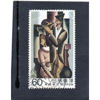 Япония. Mi:JP 1536. Saltim-banque, Сейджи Того Серия: Modern Art. 1982