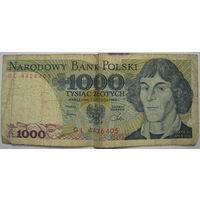 Польша 1000 злотых 1982 г. (a)