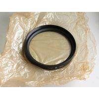 Светофильтр ультрофиолетовый ЖС10 резьба 120х1 для объектива МТО-1000