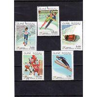 Гвинея-Биссау. Хоккей,Лыжи,Бобслей,Фигурное катаниеЗимние Олимпийские игры.Сараево.1984.