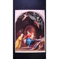 Почтовая карточка. (Святое семейство).  распродажа