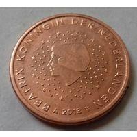 1 евроцент, Нидерланды 2013 г., AU