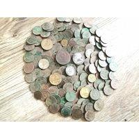 Кладик совецких монет 183 штуки с рубля! без мц!