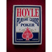 Игральные карты. Пластиковые. Покерные. Колода 54 карты. Производство США. Миннесота 1983 г.