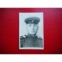 Старшина артиллерист 1943г.