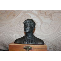 Бюст СССР, Есенин С. А., силумин, высота 11 см.