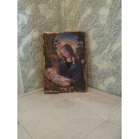 Католическая икона Рождество Христово Размер 16-22.5 см