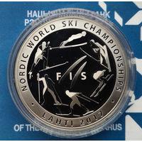 Чемпионат мира по лыжным видам спорта 2017 года. Лахти, 10 рублей 2017