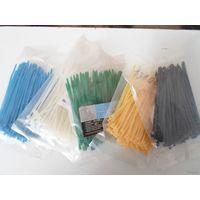 Стяжка (хомут) кабельная нейлоновая 2,5(3)*100 цвет на выбор цена за 100 шт