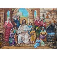 Картина маслом - Благословение 70х50