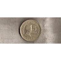 Филиппины 5 песо(писо)2002/(En)