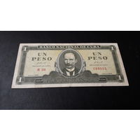 Куба 1 песо 1966