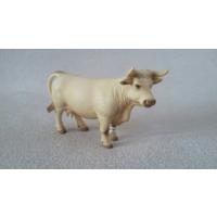 """Шарольская белая корова Schleich 13610 из серии """"Сельская жизнь"""""""