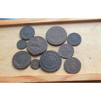 10 медных монеток 10