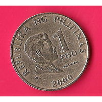 44-46 Филиппины, 1 песо 2000 г.