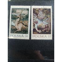 1970 Гобелены из замка Вавель в Кракове (Польша) 2 марки