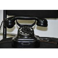 """В полнейшем оригинале 1939 ГОДА!-см. на трубке,фир-мы """"Телефункен"""" телефон немецких чиновников.Как гражданских так и военных."""