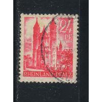 Германия Оккупация Французская зона Рейнланд-Пфальц 1947 Стандарт #8