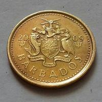 5 центов, Барбадос 2009 г., AU