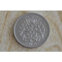 Тонга 50 сенити 1967 Коронация  (Тираж-15.000 шт!)