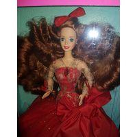Кукла BARBIE RADIANT IN RED 1992
