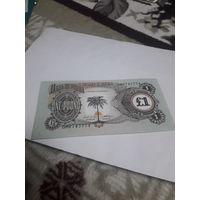 БИАФРА 1 фунт/ образца 1968-1969/