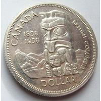 Канада 1 доллар 1958 г