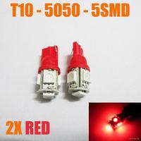 2 сетодиодных лампы красного цвета