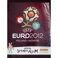Альбом Panini EURO 2012