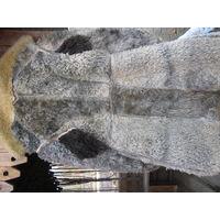 Винтажный армейский тулуп из 60-х на густом овчинном меху.Удлиннённый.С логотипом на спине-такого ни у кого нет.р 54-3 Носил зам.нач.ПДС дивизии.